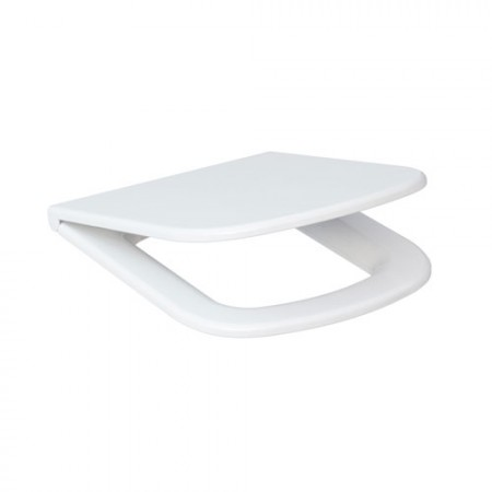 Сидіння для унітазу CERSANIT Colour дюропластове вільнопадаюче біле