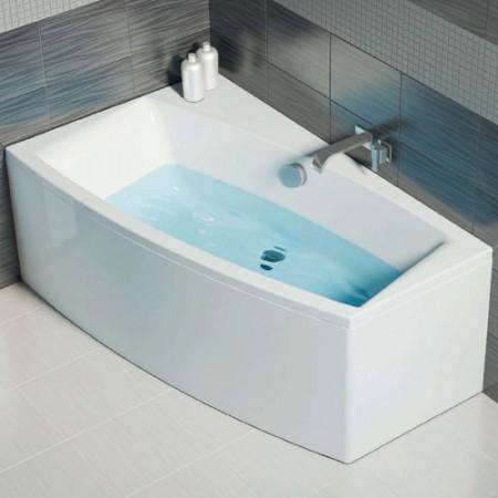 Асиметрична ванна CERSANIT Virgo L/R 140x90