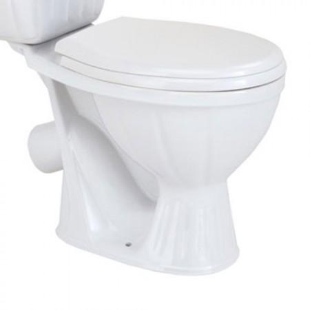 Унітаз COLOMBO Орхідея R з сидінням та кріпленням білий