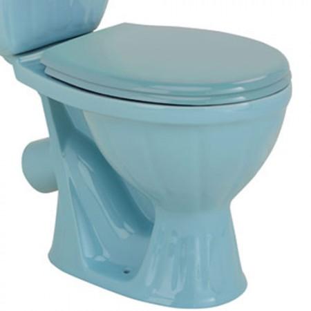 Унітаз COLOMBO Орхідея R з сидінням та кріпленням (голубий)