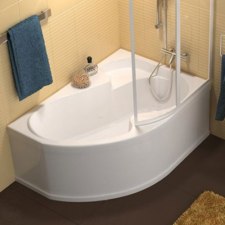 Акрилова ванна RAVAK Rosa I 140x105 ліва
